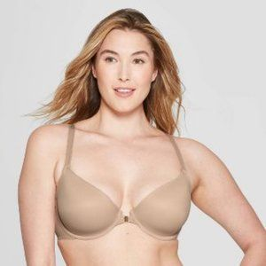 Women's Ace Lightly Lined Demi Racerback Bra Auden
